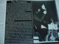 Jimmy Page: The Theremin article