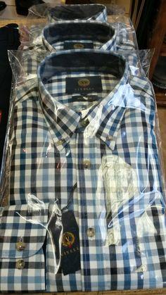 More Viyella shirts in store - in bright, colourful checks...