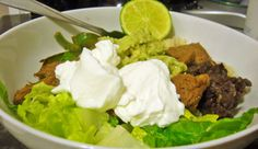 steak burrito bowl recipe, steak recipes, healthy recipes, burrito bowl