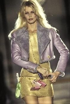 Claudia Schiffer - Atelier Versace Runway Show 1994