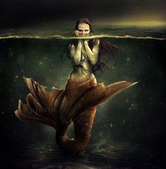 The Screaming Sea by nina-Y.deviantart.com repinned by www.BlickeDeeler.de