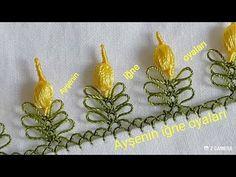 Herkesin çok begenecegi muntazam lale yapımı modeli anlatımlı yapılışı - YouTube