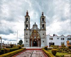 Parroquia de Santiago Apostol... - Parish of Santiago apostle, Tlazala de Fabela, México