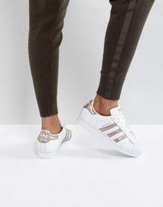 huge selection of 14d95 0982d adidas Originals - Superstar - Baskets - Blanc et or rose