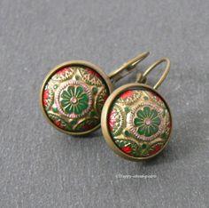 Ohrringe Ornamente von Happy-about- Pearls auf DaWanda.com