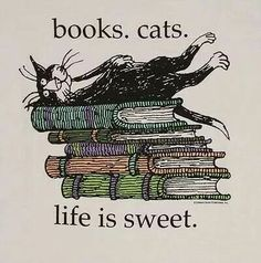 #Books #Cats #Life