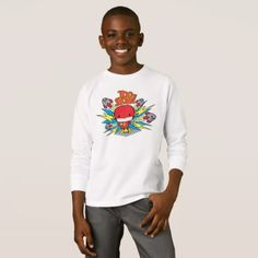 Happy Thanksgiving Turkey kids unisex t-shirt - thanksgiving day ideas diy special personalize Happy Thanksgiving Turkey, Butterfly Books, Snowman Faces, Holidays With Kids, Boys T Shirts, American Apparel, Shirt Style, Shirt Designs, Diy