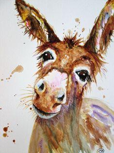 Christmas Horses, Christmas Art, Horse Artwork, Art Paintings For Sale, Watercolor Horse, Wildlife Paintings, Farm Animals, Horse Tattoos, Moose Art