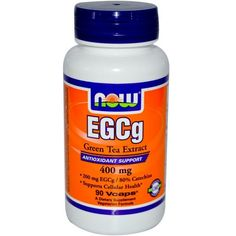 Now Foods, EGCg, Green Tea Extract, 400 mg, 90 Veggie Caps. Great for weight loss!