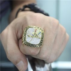 Custom 2003 New York Yankees American League Championship Ring - AL & NL Championship Rings - Customized