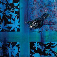 Tui 2 Canvas Art Print by Rae West for Sale - New Zealand Art Prints Art Maori, Online Art Store, Art Carte, Composition Art, New Zealand Art, Nz Art, Art Calendar, Art En Ligne, Free Canvas