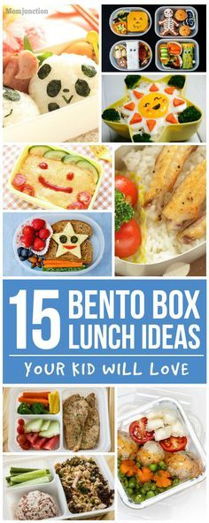 15 Bento Box Lunch Ideas Your Kid Will Love