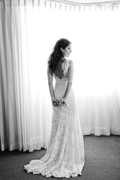 Lace. Photography by firstcomeslovephoto.com, Wedding Gown by moniquelhuillier.com