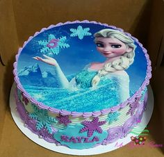 write name on pictures with eNameWishes by stylizing their names and captions by generating text on Elsa Frozen Birthday Cake Images with Name with ease. Frozen Themed Birthday Cake, Frozen Theme Cake, Birthday Sheet Cakes, Disney Frozen Birthday, Happy Birthday Cakes, Themed Cakes, Elsa Frozen Cake, Geek Birthday, Turtle Birthday