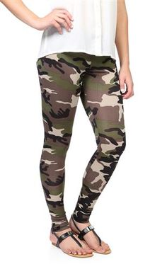 Deb Shops #camo #leggings $11.17
