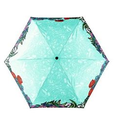 Tropical Rainforest Sun/Rain Umbrella For Women Anti-Uv Folding Parasol