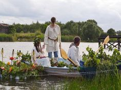 Slavic celebrations of summer solstice in Koziegłowy, Poland.   Photos viamyszkow.naszemiasto.pl