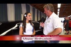 Miss Mopar discussing her Little Black Dress with Fletch of Australia's Classic Restos.  http://youtu.be/KkXeMvTN2j8