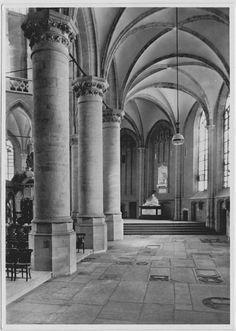 Postcard sent to Germany >> Nieuwe Kerk, Delft, The Netherlands
