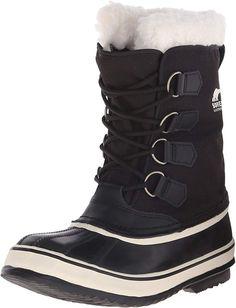 SOREL - Women's Winter Carnival Waterproof Boot for Winter Sorel Boots Womens, Womens Boots On Sale, Sorel Winter Boots, Snow Boots, Doc Martens Boots, Summer Boots, Vegan Boots, Cold Weather Boots, Black