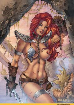 Red Sonja,Рыжая Соня,Marvel,фэндомы