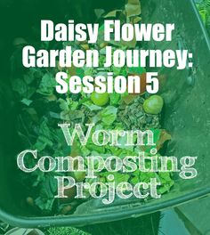 We've made it to session 5 of the Daisy Flower Garden Journey!!!  I've managed to get this journey finished in 6 sessions,including the  Court of Awards ceremony and garden party for the last session!  Session 5 is all about the take action project the girls completed as part  of the journey. We started the meeting off reading Chapter 5 from our  Garden Journey books.Our troop did the worm composting bin for their  project but there are endless ideas that you can consider. We did think…
