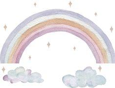 Kjøp That's Mine Wallstickers Rainbow på Jollyroom.no - Alltid fri frakt over 1000 kr - Prisløfte - 365 dagers åpent kjøp