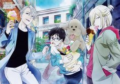 "thaniasenpai: ""official YOI poster """