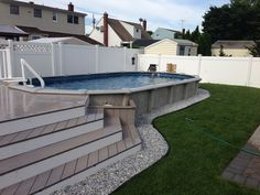 12x24 pool with deck