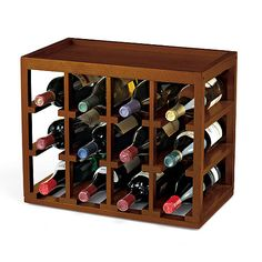 12 Bottle Cube-Stack Wine Rack at Wine Enthusiast - $64.95