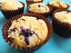 Blueberry & Coconut Muffins (Low FODMAP Recipe) - FODMAP Fun