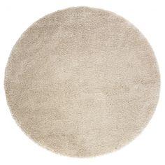 ADUM Covor fir lung 130 cm alb