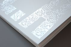 baroque hand drawn pattern, embossed and UV varnish Spot Uv, Print Design, Graphic Design, Print Finishes, This Is Your Life, Uv Led, Brochure Design, Business Card Design, Letterpress