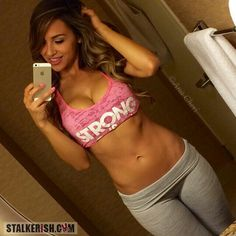 Hot Girls in Yoga Pants at Stalkerish.com - #YogaPants #YogaShorts #AnaCheri