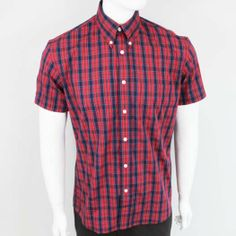 OiOi7 Vintage Button Down Shirt by Warrior Clothing- CONNERY