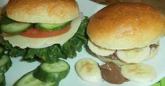 ΨΩΜΑΚΙΑ  ΓΙΑ   ΧΑΜΠΟΥΡΓΚΕΡ Gyro Pita, Salmon Burgers, Biscotti, Hamburger, Chicken, Cooking, Ethnic Recipes, Food, Breads