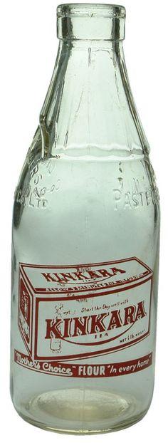 Auction 26 Preview | 587 | Kinkara Tea Dairy Farmers Advertising Milk Bottle