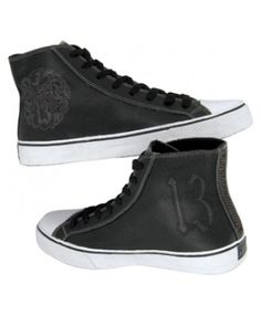 Lucky 13 Rambler Leather Hi-Top Shoes
