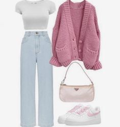 Girls Fashion Clothes, Teen Fashion Outfits, Outfits For Teens, New Outfits, Fashion Fashion, Spring Outfits, Fashion Ideas, Swaggy Outfits, Cute Casual Outfits