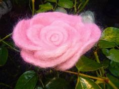 Valentines Presents, Valentines Day, Women's Brooches, Rose Gift, Flora, Wax, Felt, Handmade, Gifts