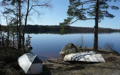 Ferienhaus am See Åsnen, Fiskaretorpet, Urshult, Tingsryd, Smaland, Schweden