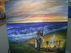 Live painting during worship at Garden of Grace...Orlando,fl...