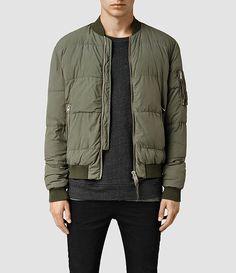 Men's Furlough Bomber Jacket (Khaki Green) -