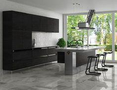 kitchen design-grey