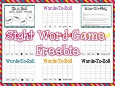 You Might be a First Grader...: Sight Word Graphing