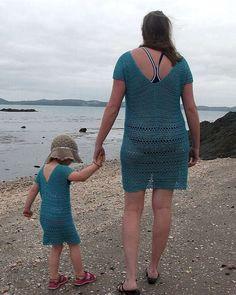 Mami y yo crochet vestido