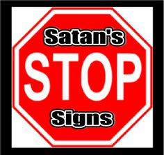 Bible Object Lessons for Kids – Satan's Stop Signs | Bible Object
