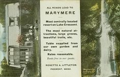 Marymere Hotel, Lake Crescent, Clallam County, WA