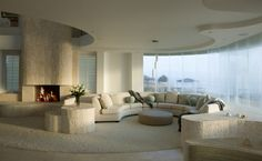 NSB home living room with great view