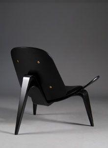 Hans Wegner CH07 Chair Black: Sample Sale: http://www.stardust.com/wegnerch07chair.html